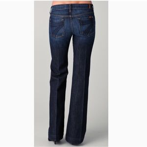 NWT 7 for ALL MANKIND Dojo Wide Leg Jeans